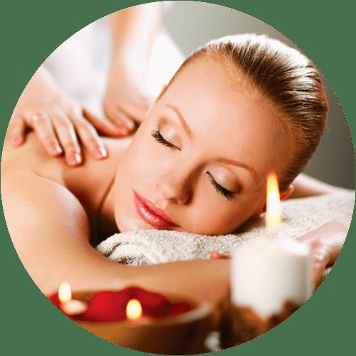 Masaje con Velas Aromáticas